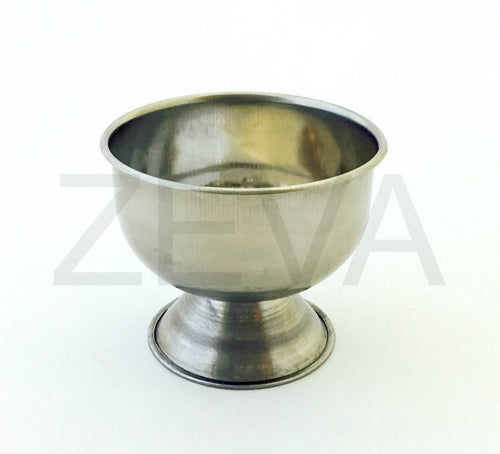 Traditional Stainless Steel Barber Shaving Cup Bowl Mug for Soap & Cream