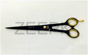 "Pro 8"" Barber Cutting, Styling Shear Scissor Black Matte"