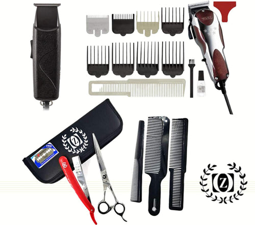 Wahl Magic Barber Clipper Combo Professional 5star Trimmer Hair Andis Styling Cutting Scissors Razor - Liberty Beauty Supply