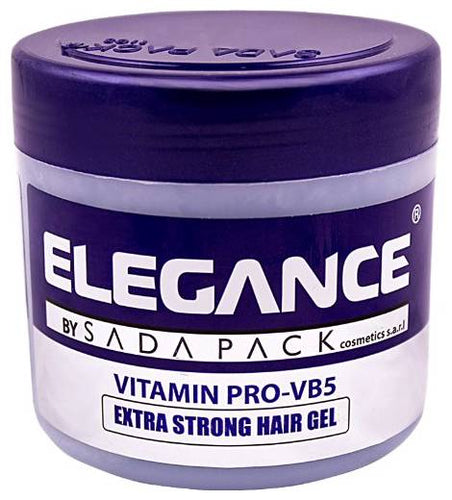 Elegance Extra Strong Protection Medium Hold Hair Gel Pomade Wax 17.6oz/500ml