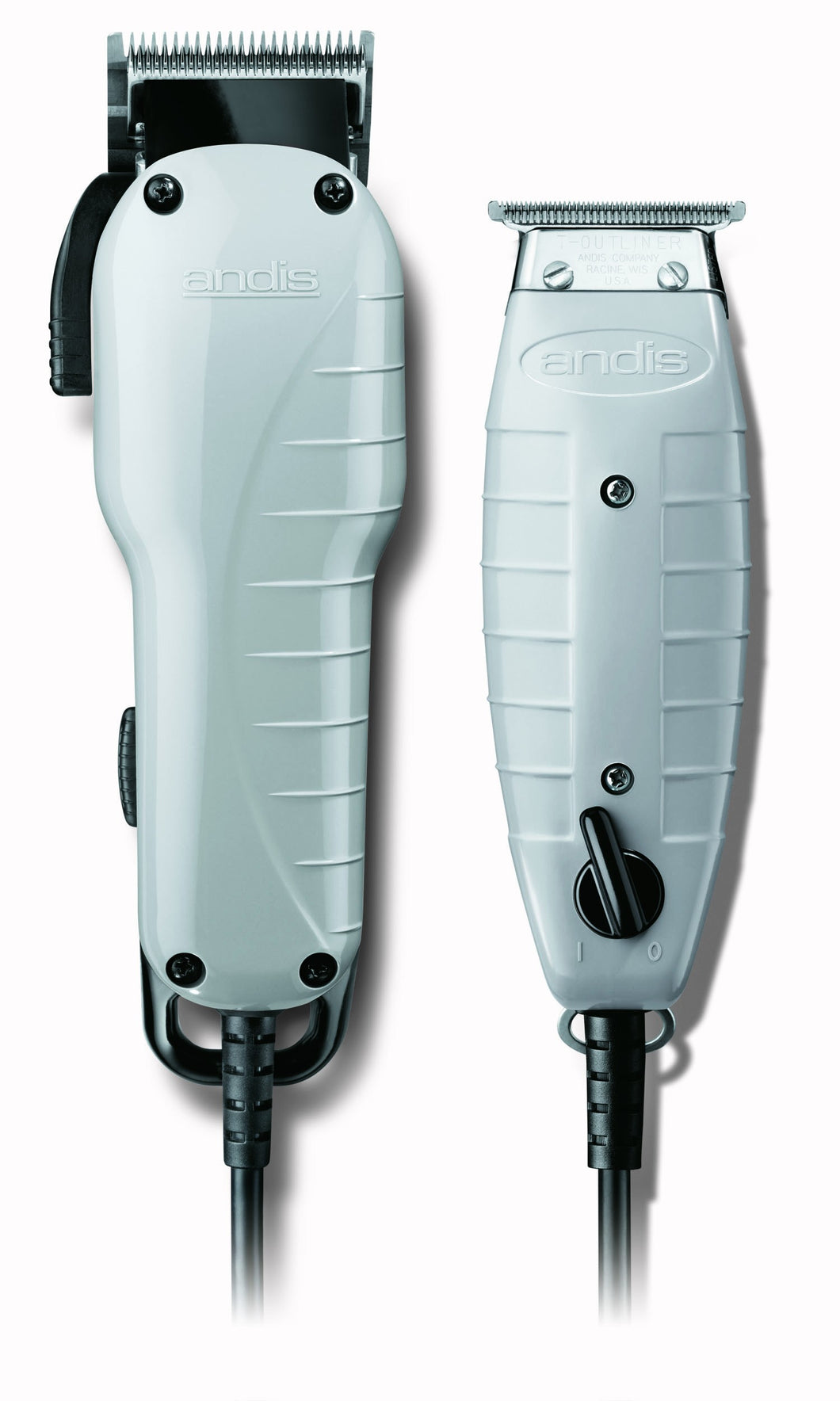 Andis Barber Combo Powerful Clipper Trimmer Combo Kit (ENVY & T-OUTLINER) 66325