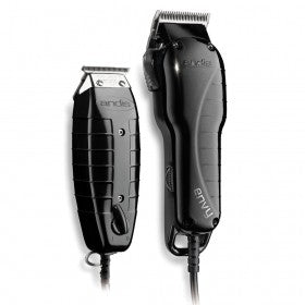 Andis Stylist Combo Envy Clipper + T-Outliner Trimmer Black Combo Haircut Kit 66280