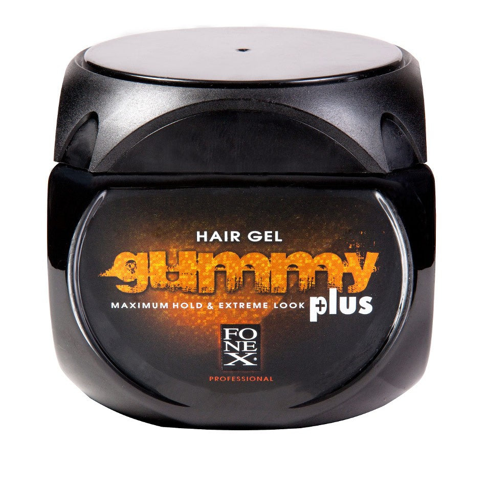 Fonex Gummy Hair Gel Maximum Hold & Extreme Look Plus 24 Oz