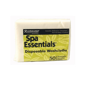 Graham Spa Essential Disposable Washcloths 50 count