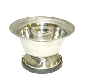 ZEEPK STAINLESS STEEL BOWL FOR SHAVING SOAP