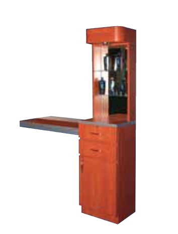 Pibbs 5003 Styling Station with Storage and Display
