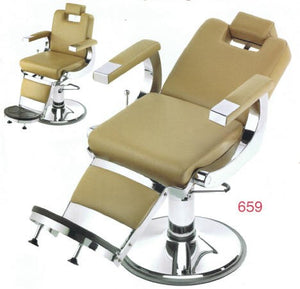 Pibbs 659 || Capo Barber Chair with 1608 Base