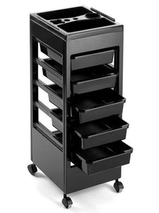 Pibbs ART88 Roll-A-Way Organizer Black