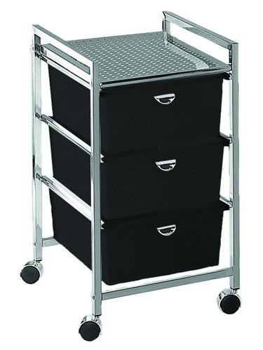 Pibbs D23 3 Drawer Cart Metal Frame