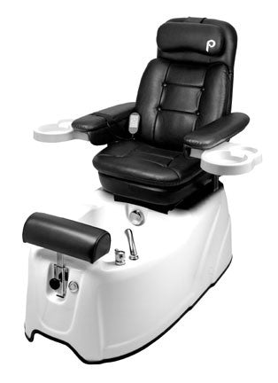 Pibbs PS80A Fiuggi Podotherapy Spa with massage and recliner white base
