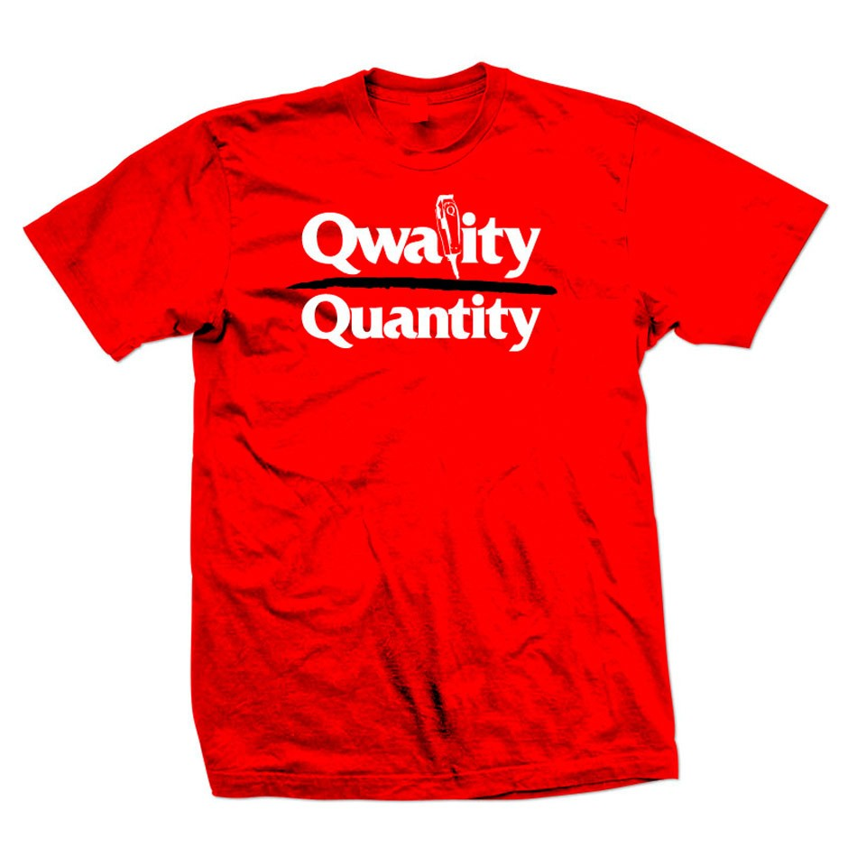 Quality Barber T-shirt Red