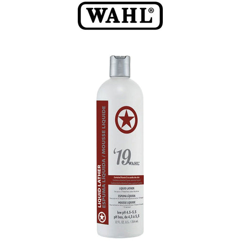 WAHL Professional Barber '19 Liquid Solution For Lather Machine 12 oz SB-68907