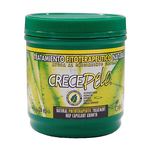 CrecePelo 8 oz BOE Crece Pelo Natural Phitoterapeutic Treatment for Hair Growth