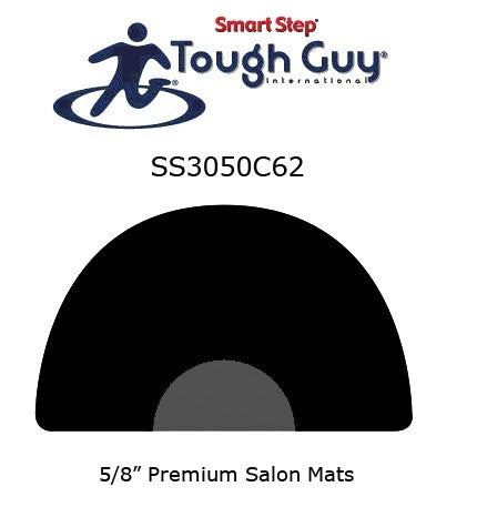 TOUGH GUY SALON MAT HALF ROUND 53