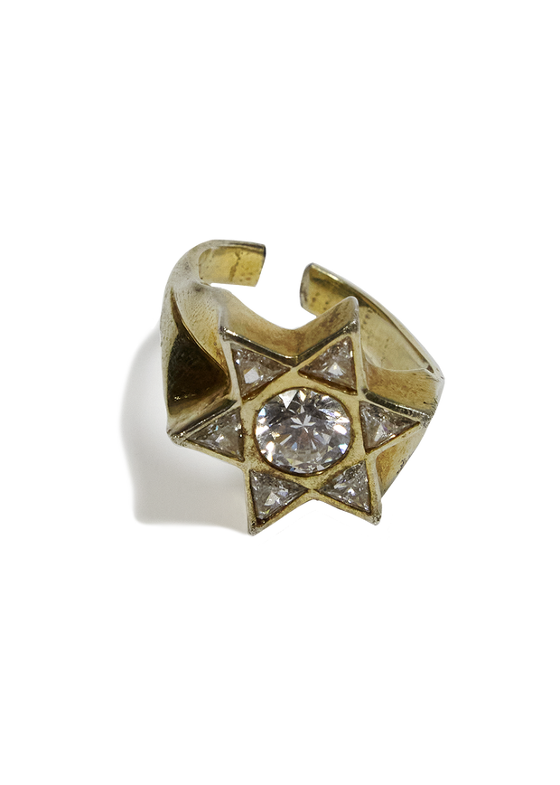 Uncut Gems Star Of David Ring From Film Kerwin Frost Telethon