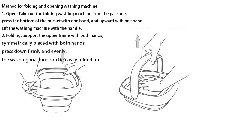 Portable Sterilizing Washing Machine