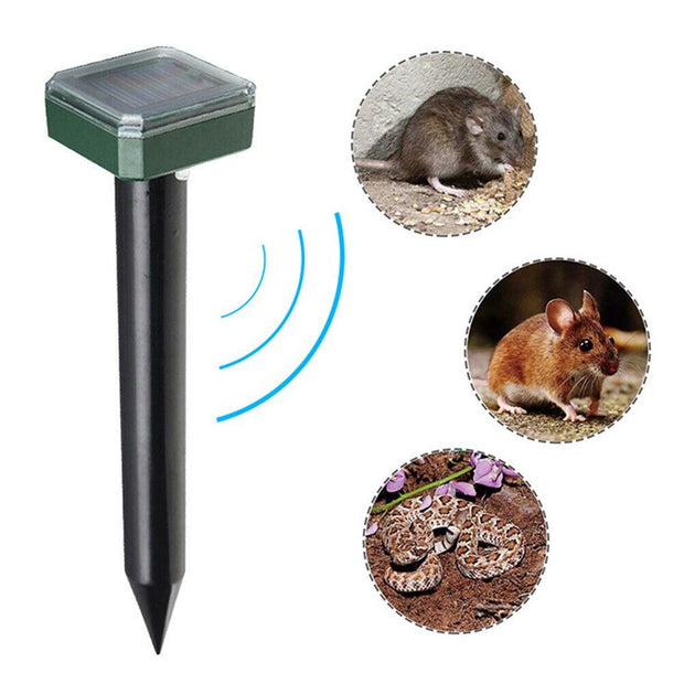 Solar Ultrasonic Insect Exterminator