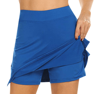 Chafe-Free Skort With Hidden Pocket 1688 S Blue