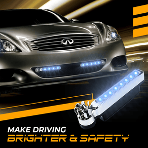 LED Wind-Powered LED Car Lights