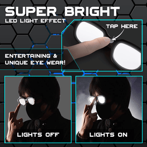 Cosplay LED Luminous Glasses