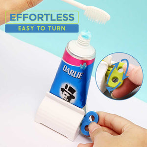 Toothpaste Squeezing Seat Holder