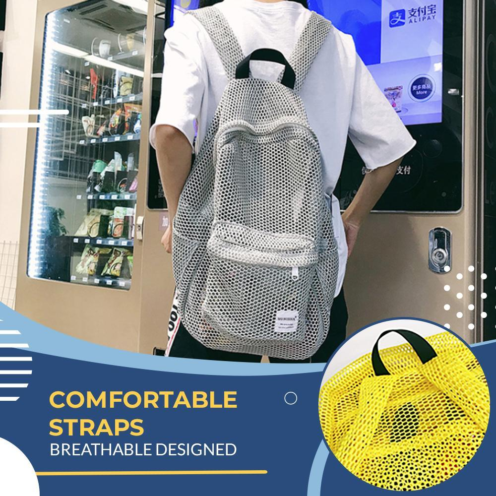 Lightweight Large-Capacity Mesh Backpack 1688