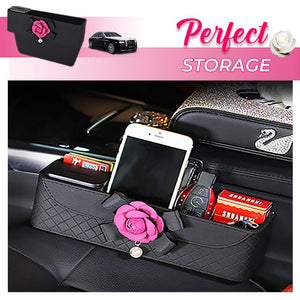 Camellia Car Slot Storage Box