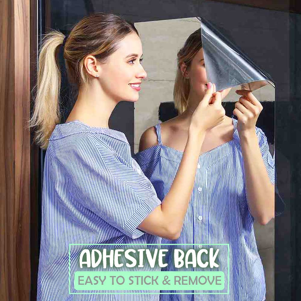 Self-Adhesive Soft Mirror