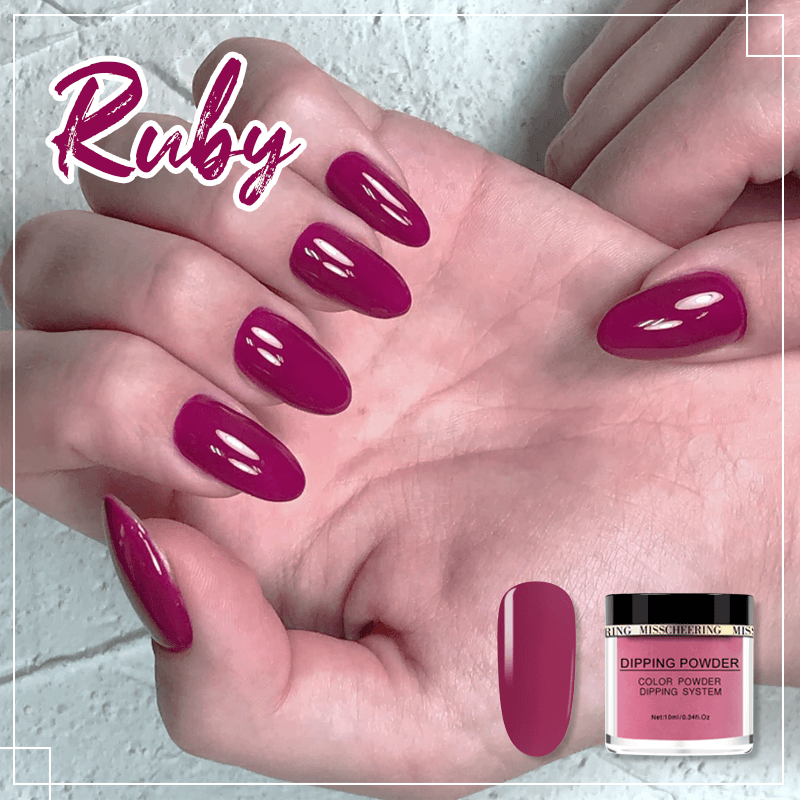 Nail Dipping Powder Manicure Set 1688 Ruby