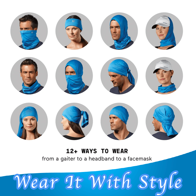 Breathable Sun Protection Cooling Neck Gaiter