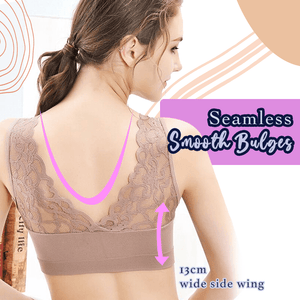 Tailored Comfort Breathable Lace Bra