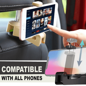 Easy Back Seat Hanger And Phone Holder