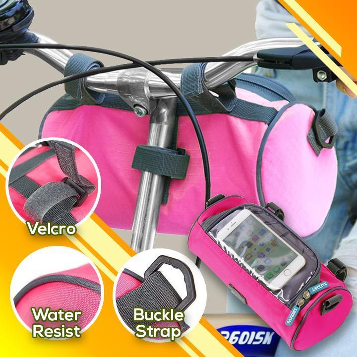 Waterproof Bicycle Handlebar Front Frame Shoulder Strap Bag