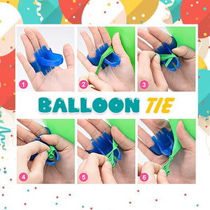 Automatic Double-Hole Balloon Air Pump