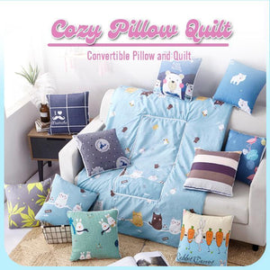 2-In-1 Foldable Quilt To Cushion