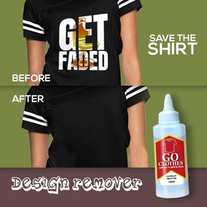 Clothes Printed Patterns Removing Agent