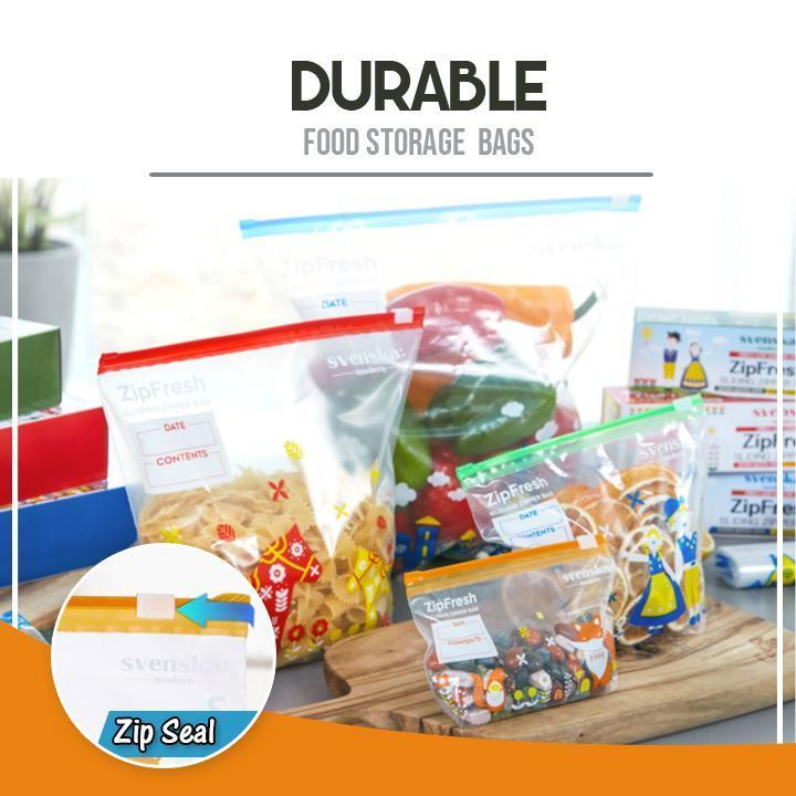Punch-Free Telescopic Fresh-Keeping Bags Rail Rack
