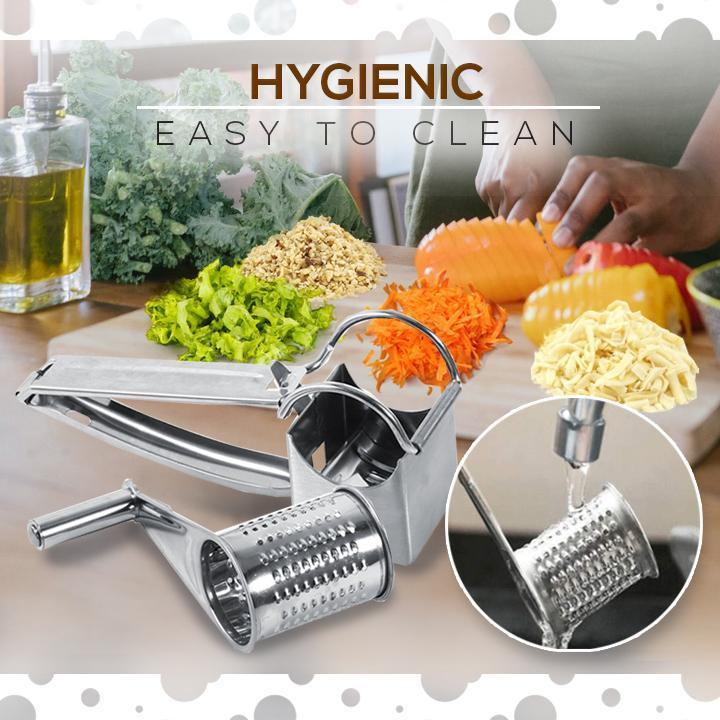 Stainless Steel Cheese And Vegetables Grater
