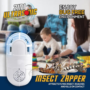 Ultrasonic 2in1 Insect Repel Trapper