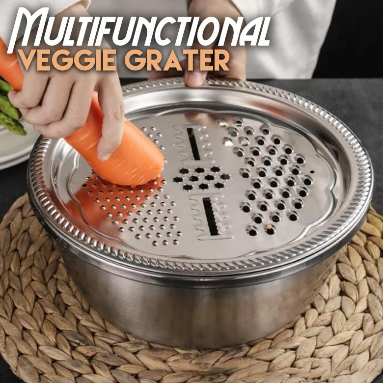 Multifunctional Stainless Steel Julienne Basin