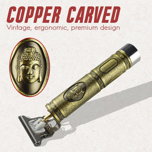 Copper Carved Professional Barber Clipper
