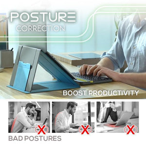 Multi-Angle Adjustment Invisible Lifting Laptop Stand