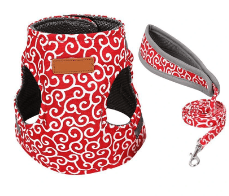 Cat Vest Harness And Walking Leash