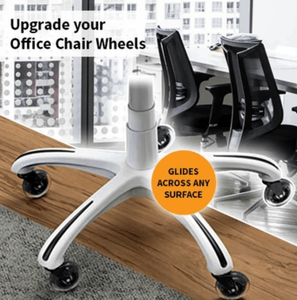Caster Office Chair Wheels Set