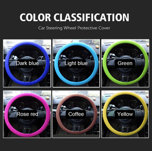 Steering Wheel Protective Silicone Grip Cover