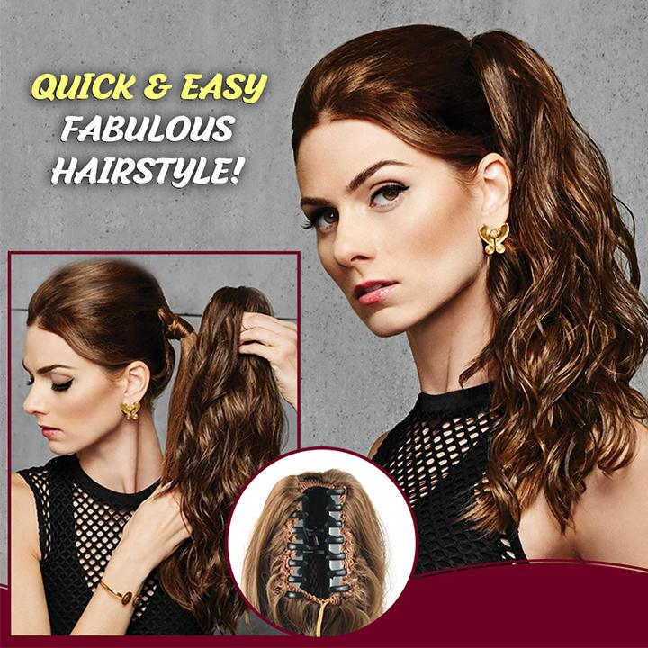 Claw-On Instant Ponytail Hair Extension 1688