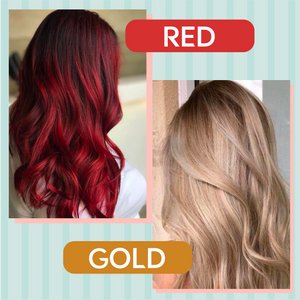 Iridescent Instant Color Changing Shampoo 1688 Red
