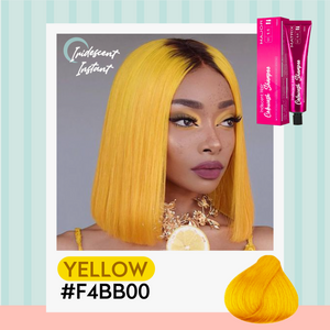 Iridescent Instant Color Changing Shampoo 1688 Yellow