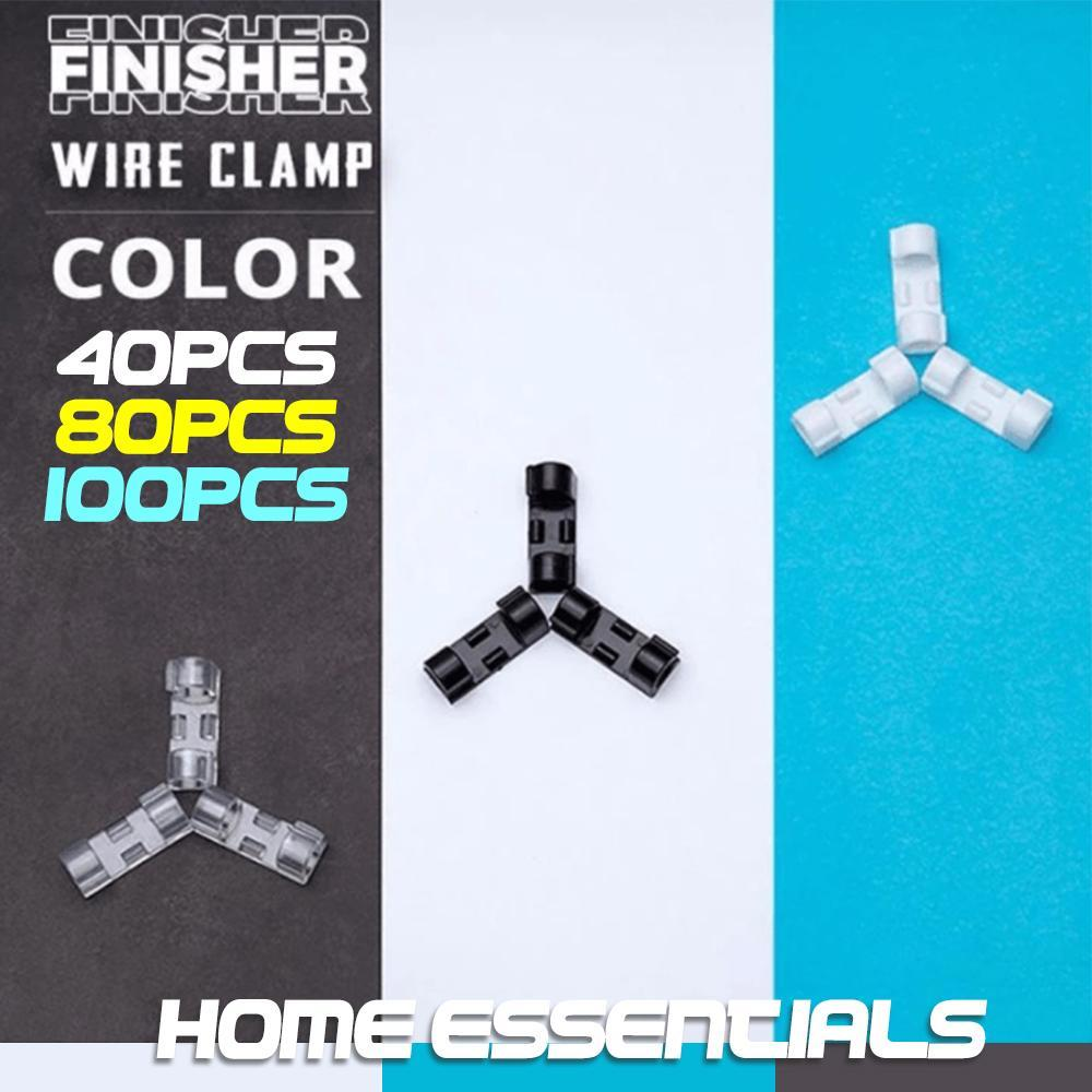 Home Essentials - Finisher Wire Clamp