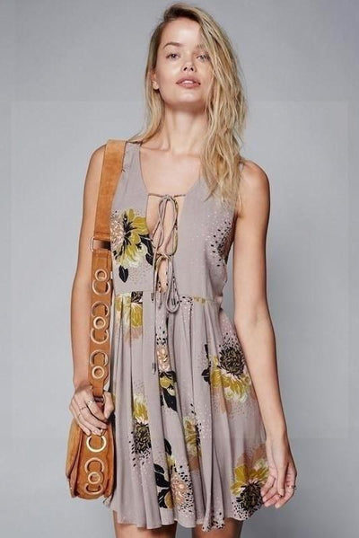 Indisches Boho-Kleid Charmant